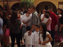 Baptism day (Anika Malone) Tags: church walking losangeles tour baptism catholics bigparadela bigparadela2012