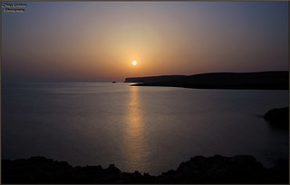 -Long exposure -Sunset Lampedusiano - Cala croce