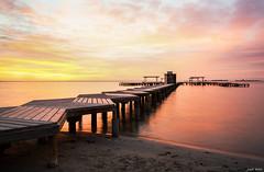 Paradise (Legi.) Tags: seascape sunrise mar nikon amanecer vr menor d600 2485mm santiagodelaribera