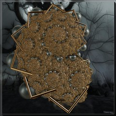 black pearls and gold (bloorose-thanks 4 all the faves!!) Tags: abstract art digital 3d render fractal incendia