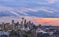 Seattle from Kerry Park (Sarmu) Tags: seattle city light sunset wallpaper urban usa mountain building tower skyline architecture night america skyscraper lights us washington twilight highresolution downtown cityscape view skyscrapers nightshot unitedstates dusk widescreen landmark icon 1600 mountrainier rainier highdefinition resolution northamerica wa 1200 spaceneedle cbd hd bluehour wallpapers iconic 1920 goldenhour vantage vantagepoint ws 1080 2014 1050 720p 1080p urbanity 1680 720 digitalblending 2560 columbiacenter sarmu