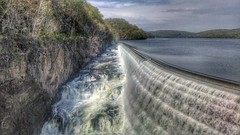 Croton Dam (JulianM. Photography) Tags: nature water beautiful wow landscape cool dam awesome neat hdr
