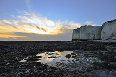 STREWN (DESPITE STRAIGHT LINES) Tags: sea england sky cliff cloud beach nature beautiful beauty rock sunrise landscape dawn bay chalk kent seaside sand nikon rocks flickr day sandy tide debris shoreline cliffs clear shore northsea naturalbeauty botanybay tidal mothernature d800 firstlight granules broadstairs thenorthsea earlylight paulwilliams nikon2470mm nikkor2470mm nikond800 botanybaybeach sandyshoreline despitestraightlines sunriseoverbotanybay botanybayengland sevenbaysofbroadstairs botanybaybroadstairsbotanybaykent thesevenbaysofbroadstairs ilobsterit