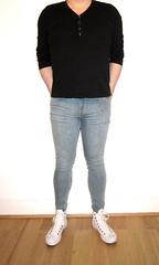 Rise of the Super Sprays (Scott Martin.) Tags: gay jeans converse tight skintight sprayon skintightjeans superspray