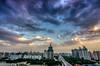 DSC_1313_4_5_tonemapped (龙颜大悦) Tags: china blue cloud beijing bluesky 北京 中国 hdr photomatix nikond90 tokinaaf1228mmf4 健德门