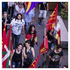 Reds (Lanpernas .) Tags: strike sansebastian donostia manifestación sansebastián manifa saintsebastien republicanas