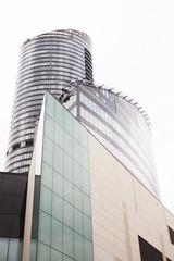 Sky Tower - Wrocaw (ArkadiuszKubiak) Tags: sky tower wrocaw bydgoszcz trip fotograf polska poland lovely day budynek architektura huge miasto atrakcje 49 pitro