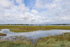 Chichester Harbour reflections (skipnclick) Tags: reflections water harbour boats hills
