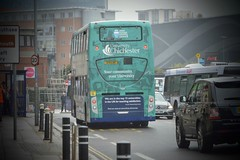 19900 SF11LBE (PD3.) Tags: 19900 sf11lbe sf11 lbe adl enviro 400 chichester university bus buses psv pcv hampshire hants england uk portsmouth stagecoach hard gunwharf quays coastliner 700