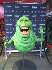 42nd Street Wax Slimer 2016 NYC 6149 (Brechtbug) Tags: 42nd street wax slimer 2016 nyc 10062016 new york city green ghost from ghostbusters film museum midtown manhattan sidewalk spooks spook movie creature halloween decoration decor spooky madame tussauds waxworks waxwork museums art sculpture statue special effect effects