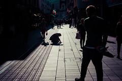 Write your own future (Pat Kelleher) Tags: cork nikon nikondf street candid light shade shadow