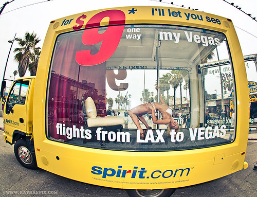Spirit Air Ad Venice Beach