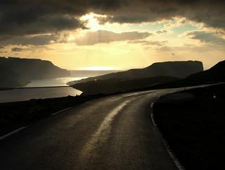 The road to Eiði