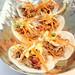 Auberge du Pommier´s Non-traditional soft tacos