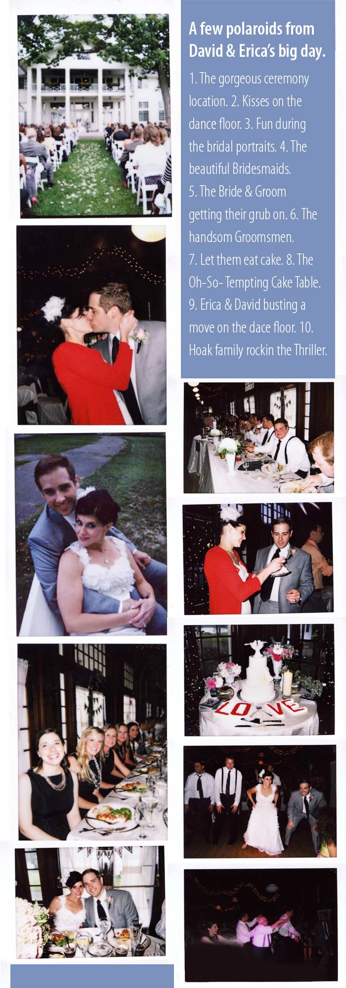 Hoak Wedding Polaroids