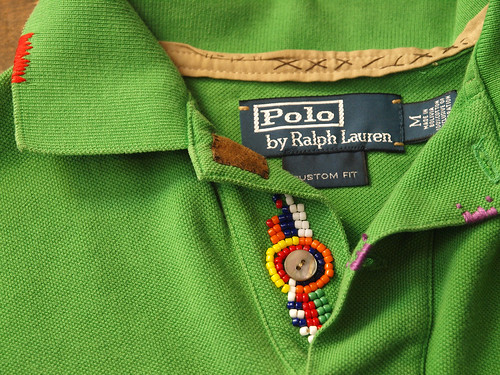 Ralph Lauren / Custom-Fit Bead Tipped Polo