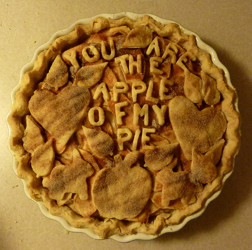 You Are The Apple Of My Pie