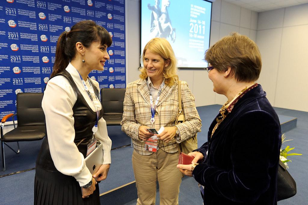 Тина Канделаки и Наталья Касперская