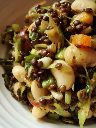 Moroccan Bean & Lentil Salad