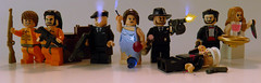 1940s New York Mafia (~Amadgunslinger~) Tags: new york gun lego fig mini tommy 1940s minifig custom mafia 40s brickarms brickforge