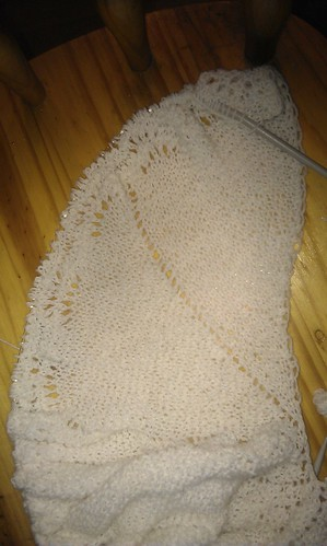 Circular shawl - progress so far by sandra_mcg
