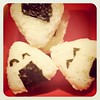 My first onigiri ever ^^