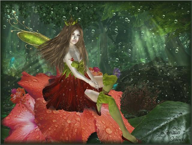 Hibiscuself in Elven Realm