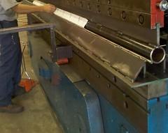 "1.5"" Radius Press Brake Tooling (BarnesMetal) Tags: stainlesssteel cincinnati round brake custom pressbrake barnesmetal customtooling"
