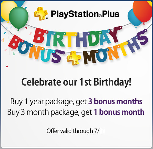 PS Plus Anniversary