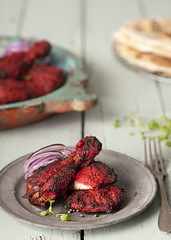 Tandoori Love (DarioM_72) Tags: food chicken vegetables sydney spices asianfood indianfood naan foodphotography chickentandoori tandoorichicken dariomilano