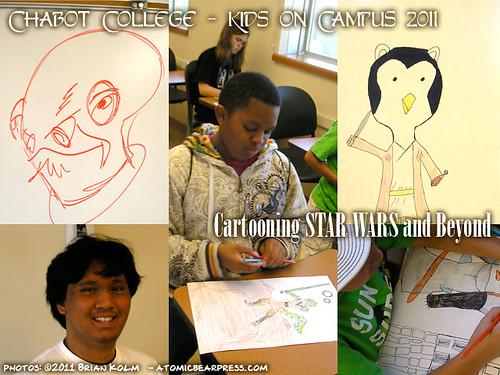 Chabot Kids on Campus - Cartooning Star Wars and Beyond