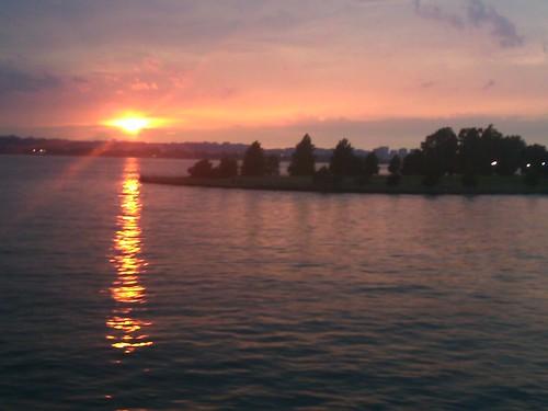 NSLC Sunset on the Potomac River