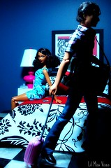 In The Bedroom: Breaking Up (Dawn Ellis) Tags: ken barbie breakup kendoll blackdoll barbieandken blackdolls trichelle aabarbie soinstyle soinstyletrichelle