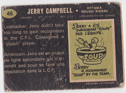 CFL Jerry Campbell 1 - Back