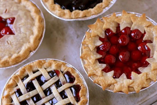 4th of July Berry Pies