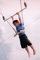 aniq on trapeze