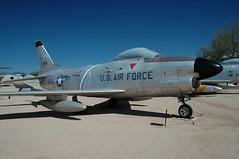 USAF F-86D Sabre 53-0965 (PlaneSnapper) Tags: museum cross tucson space air steve north az pima sabre american usaf f86 f86d 530965 201409