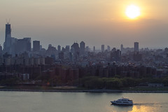 So much (Several seconds) Tags: nyc roof sunset eastvillage newyork boat manhattan edge eastriver williamsburg playingfields freedomtower