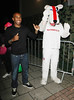 Jermain Defoe Celebrities leave the 'Britain's Got Talent' studios after the live show London, England