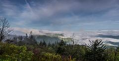 View to a Thrill (Rob Travis) Tags: panorama pano blueridgeparkway waterrockknob cloudyvalley
