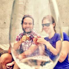 A perfect afternoon. #wine #tasting #okanagan