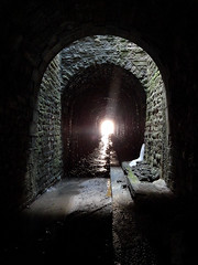 Urbex (Le Chakal) Tags: riviere tunnel lumiere egout urbex
