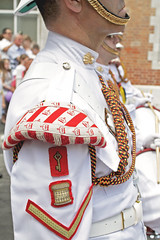 Guard Mount 094 - For the Crown, For the Key (tony.evans) Tags: music drums sticks military pipes band trumpet marching gibraltar cymbals saxophone clarinet guardmount regiment corpsofdrums royalgibraltarregiment thebandoftheroyalgibraltarregiment marchingbandguardmount