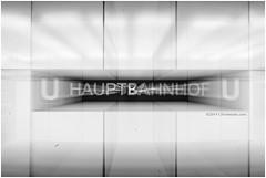 Hauptbahnhof (`Olivier Jules`) Tags: blackandwhite motion berlin station underground blurry metro metropolitana germania mosso berlino sfocato