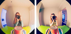 #ThrowbackThursday Hotel Helix 2012 | 2014 (FulgentKlutz) Tags: travel selfportrait photography hotel mirror washingtondc dc nikon vibrant sigma convex recreation colourful comparison amateur sidebyside hotelroom throwback 2012 lightroom selfie hotelhelix convexmirror d90 photorecreation sigmalens 2013 nikond90 throwbackthursday sigma1750mmf28exdcoshsm sigma1750mmf28exdcos lightroom5 faithkeay fulgentklutz