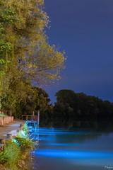 #piave #longexposure #night #bellanottata #pontile (andreapagin) Tags: longexposure night pontile piave bellanottata