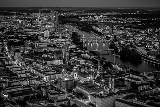 Frankfurt - Main Tower Plattform