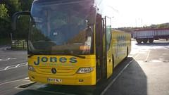 BX07 NLY (tonyj16ff) Tags: mercedes tourismo jonesinternational windycornercoaches bxo7nly