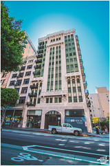 Downtown, Los Angeles (FOXTROT|ROMEO) Tags: auto california ca street city sky usa house car cali canon eos la us los downtown angeles haus pickup scene stadt hdr hochhaus skyscrapper weitwinkel strase 70d eos70d
