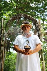 Cocoa plantation between Xlapak and Labna-Yucatan, Mexico (RebecaAR) Tags: nature stone canon mexico site travels ruins maya culture viajes ruinas merida ethnic zona cultura piedra cacao etnico arqueologica arqueological rebecaar
